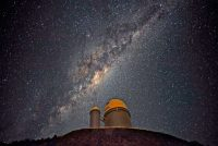 Milky Way's Warp Is Likely Due To Galactic Collision