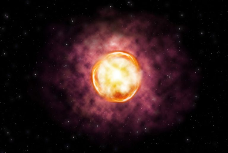 ESO Telescope Captures The Disappearance Of A Massive Star