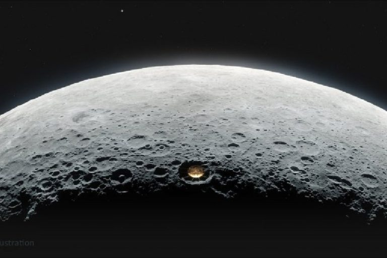 NASA wants to place giant telescope on Moon crater
